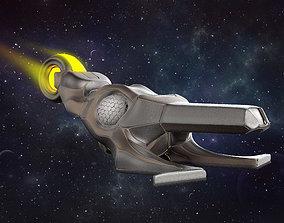 3D Printable Alien Ship