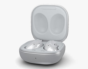 3D Samsung Galaxy Buds Live Mystic White