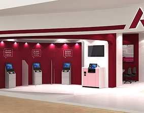 AXIS BANK LOBBY 3D