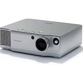 3D Silver Panasonic Projector