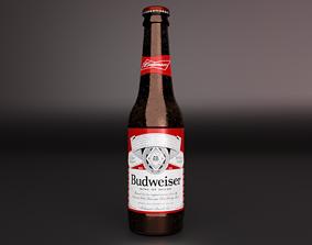 3D model Budweiser Bottle