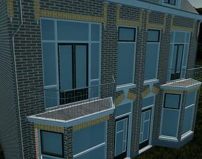 High Detail 3D Model - CityHouse