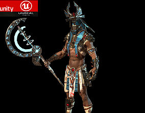 anubis warrior 3D model
