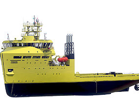 3D model Offshore Carrier hquality