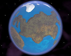 3D Caricature of Earth