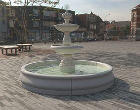 3D model Fountain classic