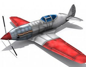 Mikoyan Gurevich MiG-9 3D model