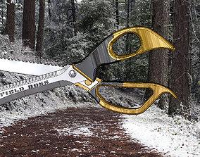 Knife Field Boss 3D print model