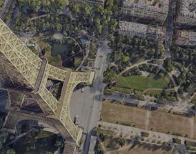 3D Paris City Eiffel Tower