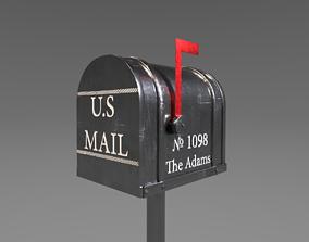 Tin Mailbox 3D model