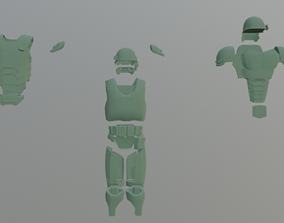 3D model Alien Colonial Inspired Armour