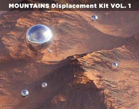 MOUNTAINS Displacement Kit VOL-1 3D model