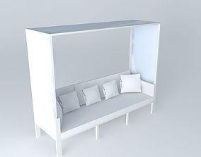 Bench canopy ITHACA Maisons du monde 3D model