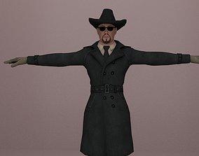 Mafia Man Game Character 3D model
