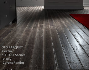 Old Parquet with SceneTEST 3D model