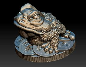 Money Frog - Jin Chan - statuette - 2019 3D print model
