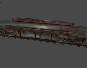 3D asset VR / AR ready train