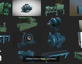 3D model PBR Rubber Factory Props