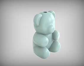 Form for making a Bear of foam 3D printable model