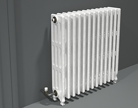 Vintage Radiator From 3D