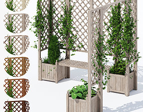 3D model Eucalyptus deck