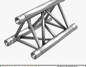 Triangular Truss Straight Segment 71 3D virtual