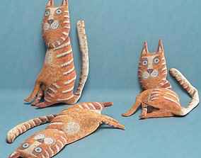 kids cat toy 10 3D model
