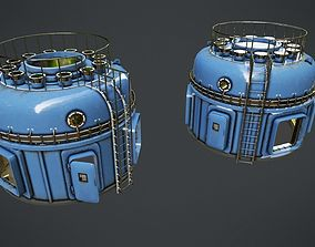 3D model game-ready Scientific Device 4
