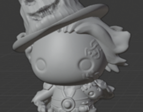 3D printable model Wizard Dood
