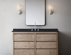 3D MARTENS SINGLE EXTRA-WIDE VANITY