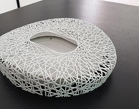 Beijing national stadium birds nest 3D printable model