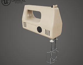 3D asset Electric Mixer