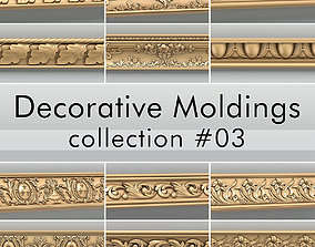 3D model Decorative Moldings collection 03