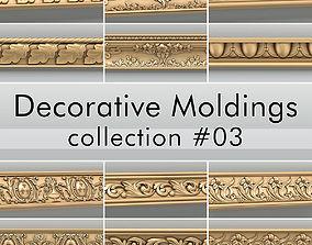 3D Decorative Moldings collection 03 moulding