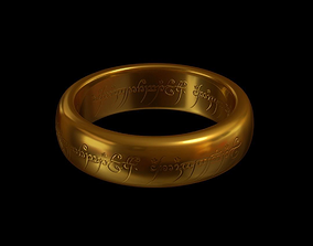 Sauron Ring - The Lord of the Rings 3D printable model
