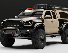 Toyota Tacoma 2018 Overlander 3D