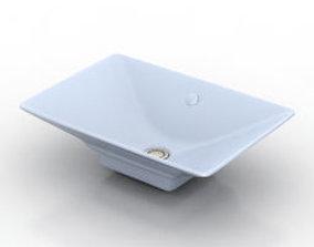 Sink 3D Model bathroom-fixture