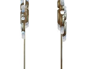 3D asset Luxxu DRAYCOTT floor lamp