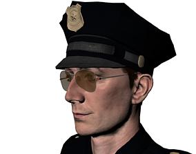 3D model Elliot a cop