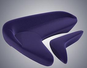 3D Zaha Hadid Moon System Sofa Furniture