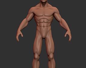 Hero Stylized Basemesh 3D