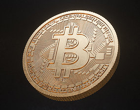 Bitcoin High Poly 3D Model