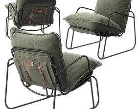 TUTTU Lumberer armchair by Levantindesign 3D