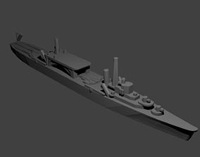 3D print model Japanese Chitose Class Seaplane Tender