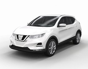 Nissan Qashqai J11 2013 Restyling 3D model