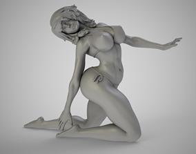 3D print model woman Summer Beauty