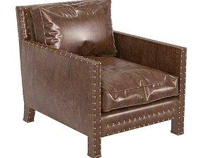 Ralph Lauren home Nailhead Club Chair 3D model