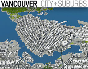 Vacouver - City and Suburbs 3D asset