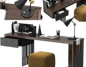 Scriba desk by Molteni 3D