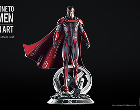 Magneto Xmen Fan art high quality 3D print model